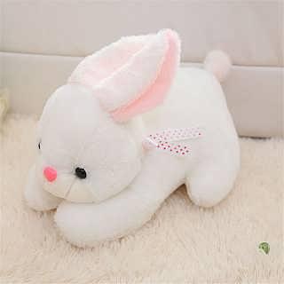悦达 兔子毛绒玩具 可爱小白兔玩偶儿童布偶娃娃抱枕