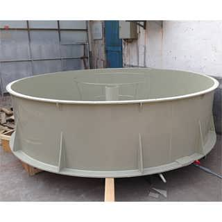 室内高密度养鱼循环水养殖系统设备塑料鱼池图片