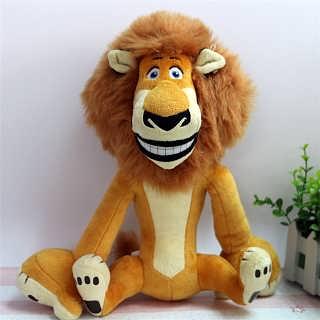 可爱毛绒玩具狮子公仔可定制批发