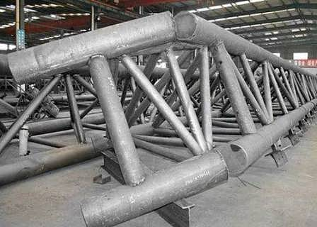管桁架制作管桁架恒丰钢结构多图