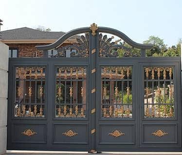 公司一直致力于别墅庭院门,私家花园大门,企业会所铜门,酒店园林欧式
