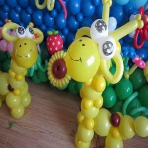 长治气球教程,婚礼装饰气球编织培训