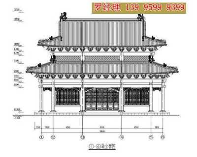 寺庙规划 寺庙图纸设计 宝塔设计 佛塔设计