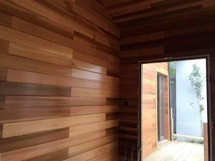 紅木紋窗戶裝修效果圖