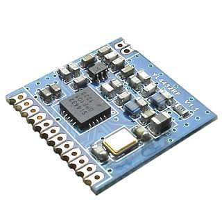 远距离silicon芯片SPI接口抗干扰双向通讯无线收发模块-深圳捷迅易联科技有限公司