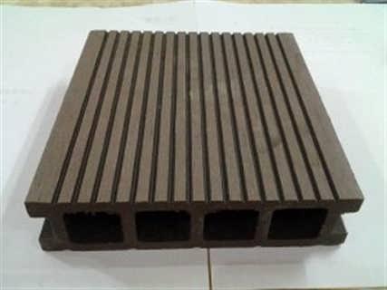 清远塑木地板华业装饰材料pvc塑木地板