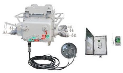 4 电流互感器 在断路器的本体内a,c相各配置1只电流互感器,变比600/1