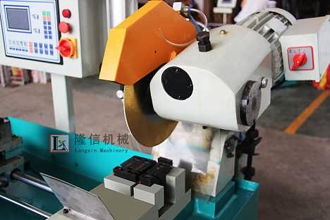 液压全自动切管机,自动送料厂家直销自动连线金属圆锯机