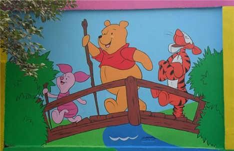 福建幼儿园墙体绘画图片 供应商
