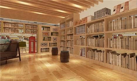 成都书店店装修_书吧书屋设计效果图装修设计公司哪家