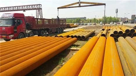 结构钢管立柱 规 格: 型 号: 供货量: 品 牌: 包 装: 价 格: 带料加工