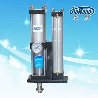 气液增压缸_玖容增压缸_油桶内置型气液增压缸