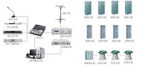 河南无线调频广播系统设计安装公司